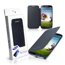 Original Samsung Galaxy S4 i9500 Flip Cover Case in Nova Black EF-FI950BB