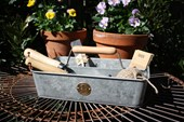 Galvanised Tin Trug