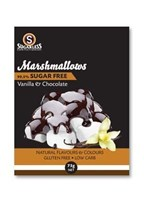 Sugarless Co Dark Chocolate Marshmallows 75g Best Before 28/5/18
