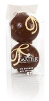 Cavalier Dark Chocolate Christmas Balls