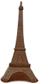 Chocolate Eiffel Tower Centerpiece