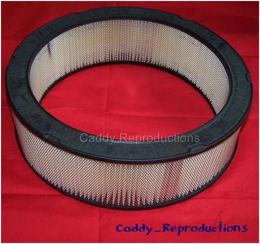 Reproduction Caddy Style Air Cleaner : Cadillac air filter conversion kit