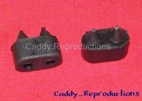 1965 - 1975 Cadillac Door Bumpers 1/2""