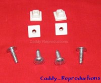 1930 - 1966 Cadillac License Plate Screws and Nuts