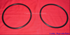 1940 - 1956 Cadillac Headlight Rim Seals (w/o wire)