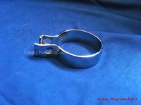"1940 - 1966 Exhaust Clamp - Chrome (2"")"