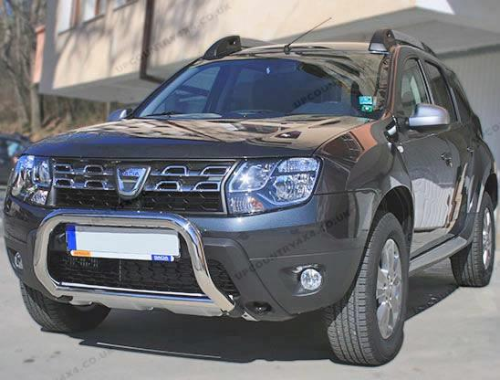 antec eu front a bar 60 mm with pipe dacia duster up country 4x4 and pick up accessories shop. Black Bedroom Furniture Sets. Home Design Ideas