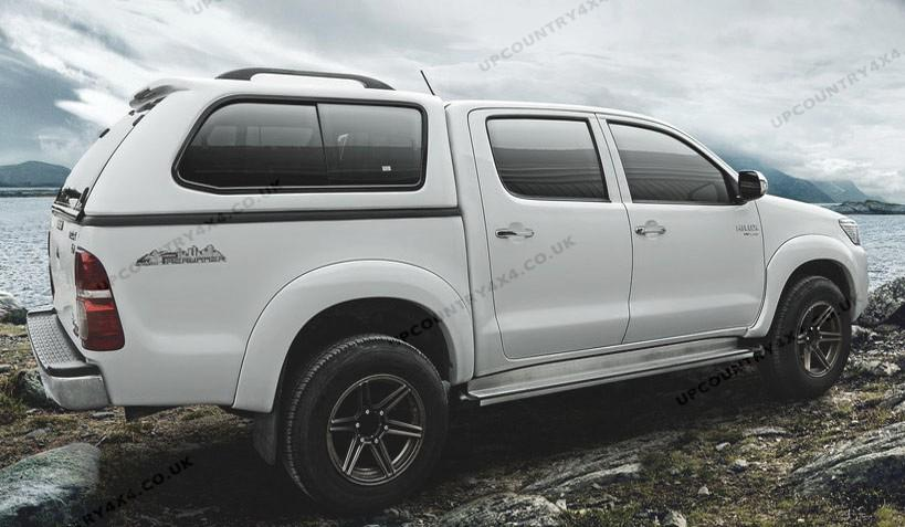 smart arctic glazed hardtop toyota hilux double cab up country 4x4 and pick up accessories shop. Black Bedroom Furniture Sets. Home Design Ideas