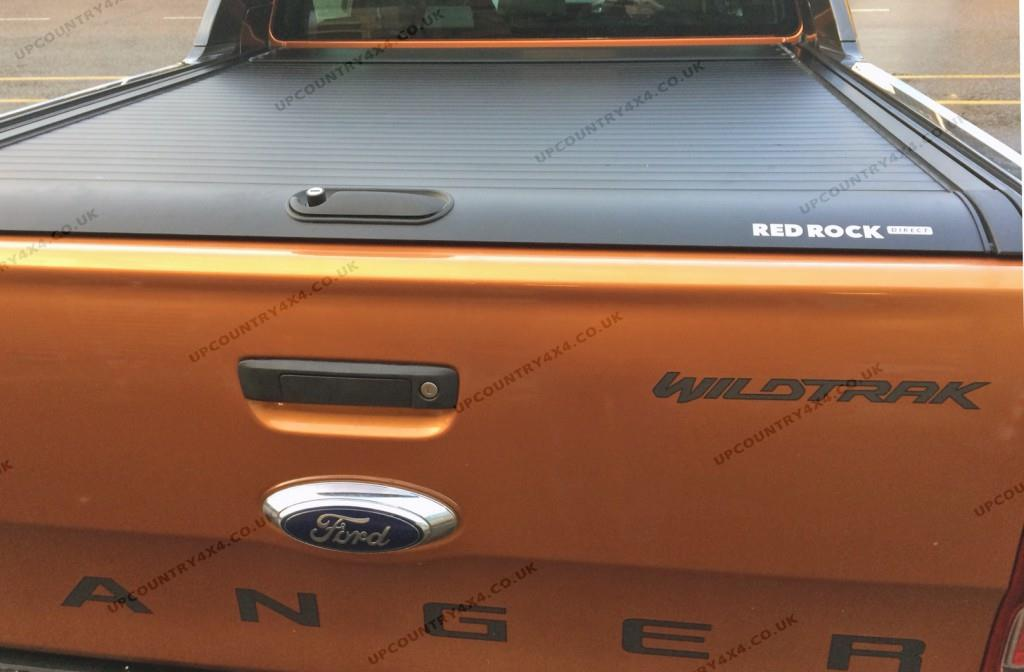 Red Rock Roll Aluminium Roller Shutter Tonneau Cover