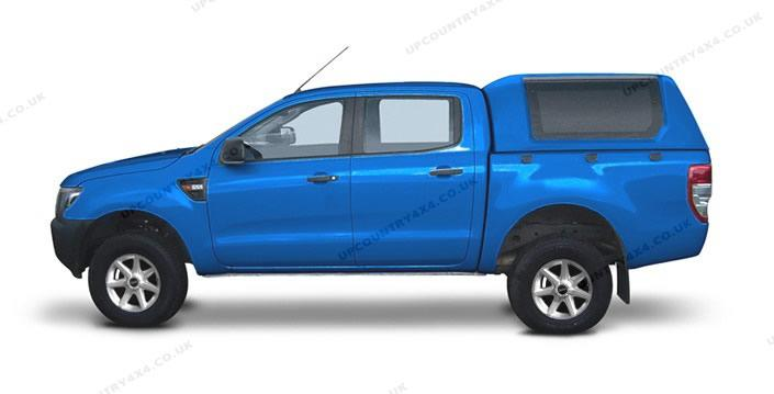 Road Ranger RH3 Glazed Remote Hardtop - Ford Ranger T6 Double Cab Up-Country 4x4 and Pick-Up ...