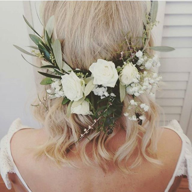 DIY Hair Garland