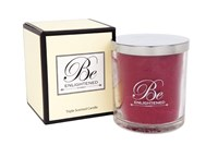Be Enlightened Red Rose Candle