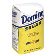 SUGAR (WHITE) DOMINO 4LB BAG