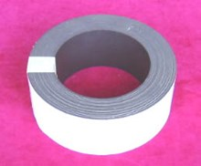 50mm x 60mtr White Magnetic Tape