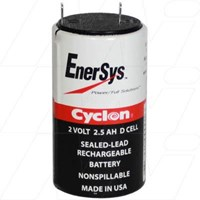 Sealed Lead Tin Battery Cyclon Cell - 0810-0004