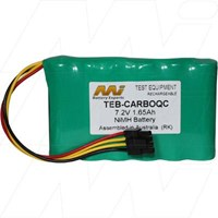 Battery for MEP Instruments CarboQC CO2/O2 Measuring Module