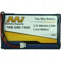 Battery to suit GME TX650