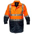 Safety Jacket with fleecy lining