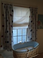 Spotty and stripe nursery curtains HALF PRICE SPECIAL OFFER