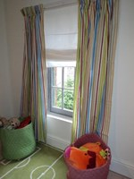 Striped curtains in choice of colours SPECIAL OFFER LESS THAN HALF PRICE