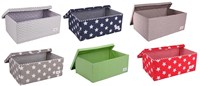 Fabric storage boxes for childrens rooms