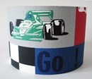grand prix formula One racing car fabric lampshade for ceiling or bedside lights