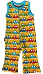 ON SALE Metsola Terry overalls with cars