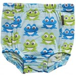 ON SALE Maxomorra Organic baby bloomers - Blue Frog