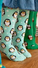 Slugs & Snails Tights - Penguins