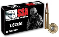 Silver State Armory 308 NATO 175 Gr M118LR - 20 Rds