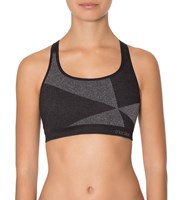 Triumph Triaction Seamfree Crop Top -  LIGHT GREY MELANGE