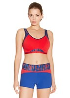 Freya Active - EPIC MOULDED UNDERWIRE CROP TOP SPORTS BRA - RACING RED