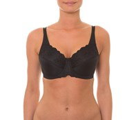 Triumph Embroidered Minimizer Bra - BLACK or FAWN