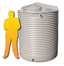 3500L Corrugated Poly Water Tank