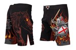 Four Horseman Fight Shorts - War