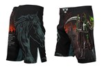 Four Horseman Fight Shorts - Death