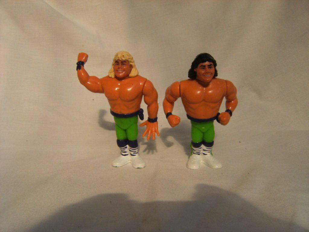 WWE WWF Vintage Hasbro The Rockers Action Figures - and ... Vintage Hasbro Toys