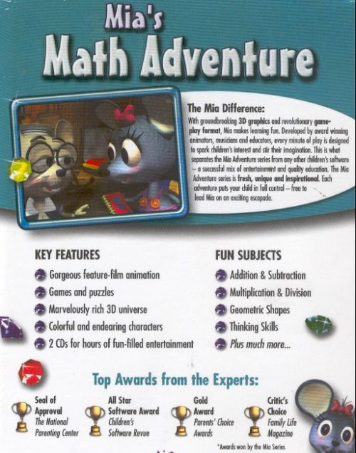 Mia`S Math Adventure: Just In Time