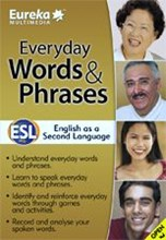 Eureka Everyday Words and Phrases ESL DVD-ROM
