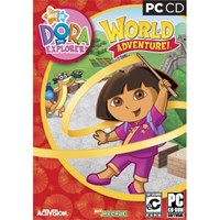 Dora the Explorer Dora's World Adventure computer game (XP only)