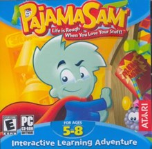 Pajama Sam 4 Life is Rough when you lose your Stuff (32-bit only)