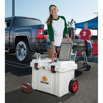 Introducing the new Pelican 52 litre Wheeled Cooler