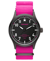 POP-PILOT® Neon Nights 42mm<br/>PVG Edition Neon Pink Strap Watch
