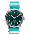 POP-PILOT® Classics 42mm<br/>GIB Edition Teal Strap Watch