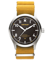 POP-PILOT® Jungle Beats<br/>JNB Mustard Yellow Strap Watch