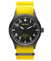 POP-PILOT® Neon Nights 42mm<br/>LAX Edition Neon Yellow Strap Watch
