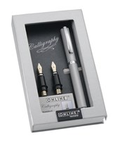 ONLINE Vision Silver<br/>Aluminium Calligraphy Set