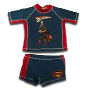 Superman Swimming 2 Pieces Suit - Baby Boys Clothes