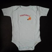 Dinosaur Football Adam & Eve Baby Wear Tag Free Romper - Unisex Clothes