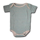 Blue Lines Adam & Eve Baby Wear Tag Free Romper - Baby Boy Clothes